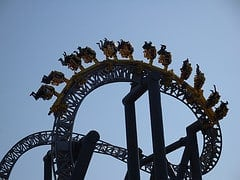 rollercoaster. Credit: David Pursehouse (flickr)