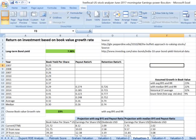 stock analysis spreadsheet for u s  stocks  free download  u2013 freefincal