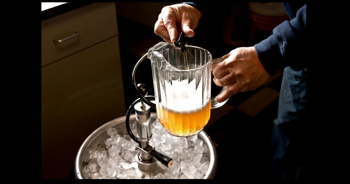 Super top up health insurance policy is like bartender filling up a beer pitcher