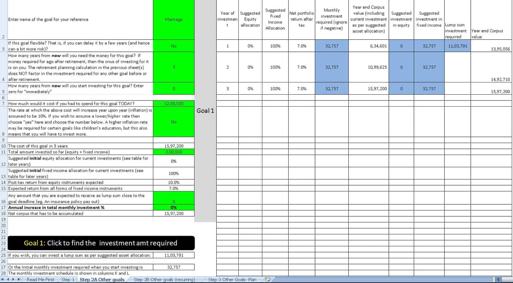 investment planning example 1