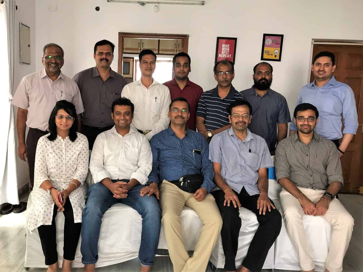 Fee-only advisors India: second meeting group photo