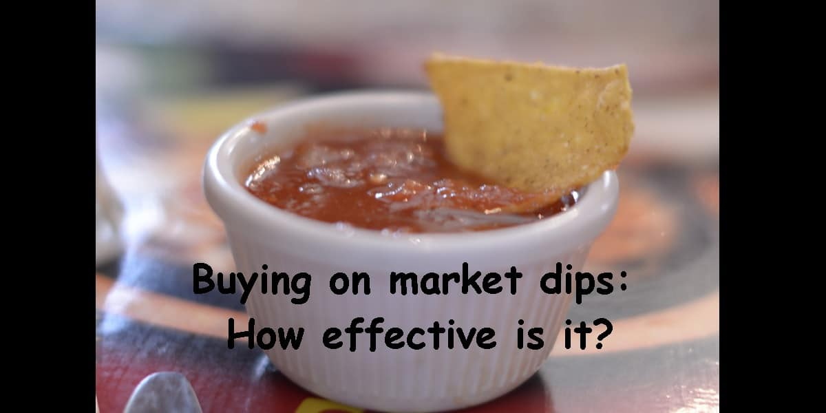 Buying on market dips: How effective is it?