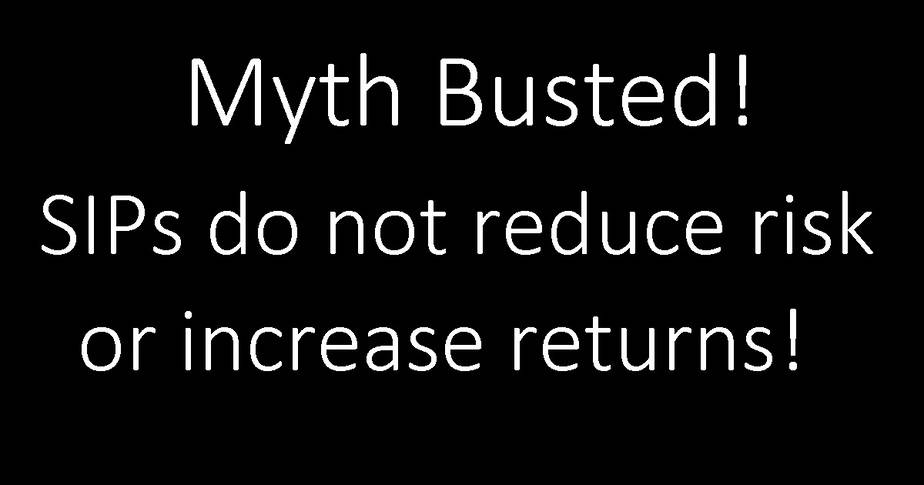 Myth Busted: SIPs do not reduce risk or enhance returns!