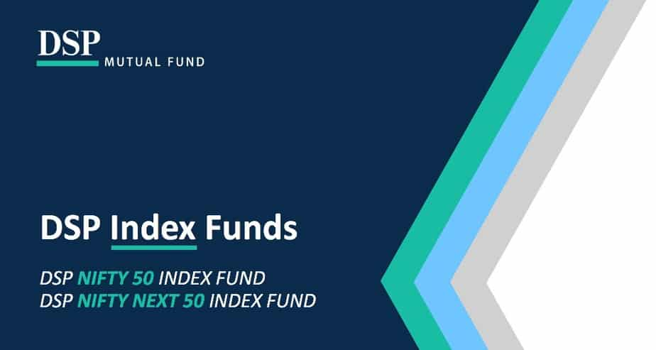DSP Nifty 50 Index Fund & DSP Nifty Next 50 Index Fund presentation cover