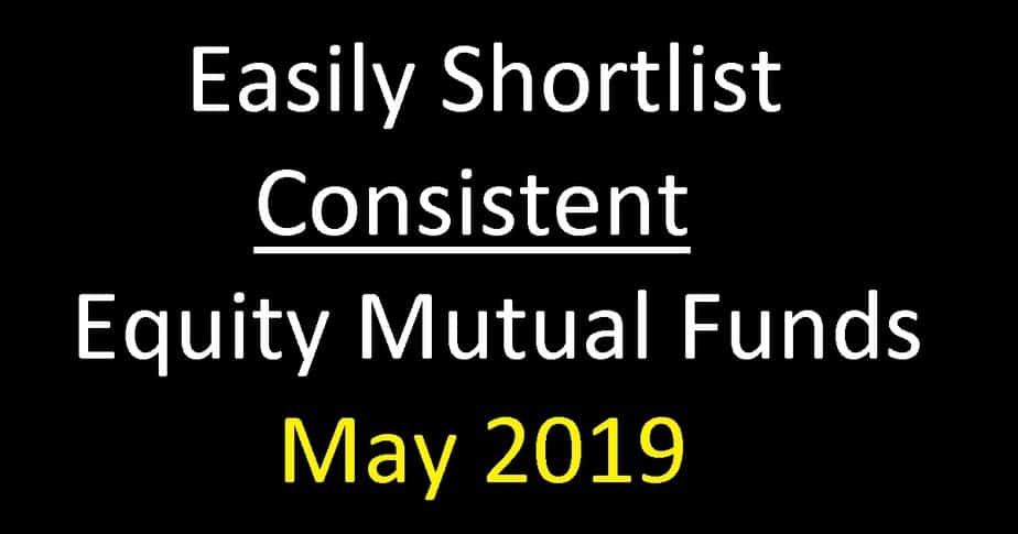 Best Equity Mutual Funds May 2019